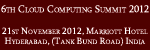 6th Cloud Computing Summit 2012 